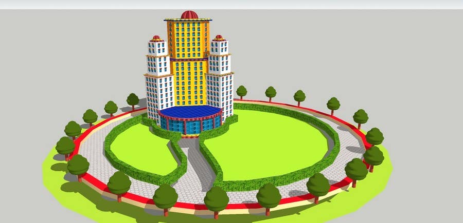 "Intrarea #11 pentru concursul ""100 isometric building designs for iPhone/Android city building game"""