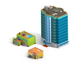 #9 para 100 isometric building designs for iPhone/Android city building game por ThatsHowIDoThis