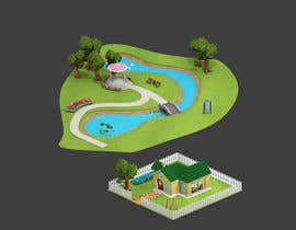 #28 para 100 isometric building designs for iPhone/Android city building game de ThatsHowIDoThis