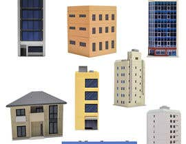 #27 para 100 isometric building designs for iPhone/Android city building game de TMDesigns110