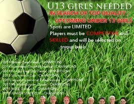 #13 for Design a Flyer for Advertisement for Soccer team af cristinaa14