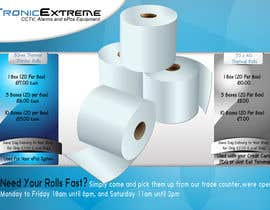 nº 6 pour Design a Flyer for Thermal Printer Roll par alidicera