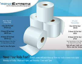 #8 for Design a Flyer for Thermal Printer Roll by alidicera