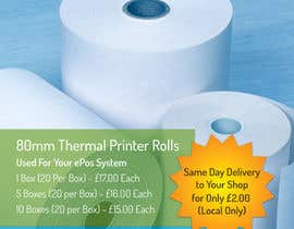 nº 3 pour Design a Flyer for Thermal Printer Roll par vw7993624vw