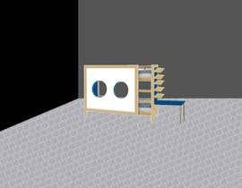 #14 untuk IKEA Bunk Bed Hackathon - Mid Century Modern oleh fabriscribbles