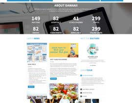 #6 untuk Design a Website Mockup for my health website - Auto-med oleh yashaswini510