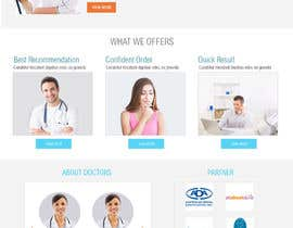 #17 for Design a Website Mockup for my health website - Auto-med af azzaldesigns