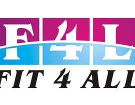 #129 untuk Fit4All Fitness center oleh BlajTeodorMarius