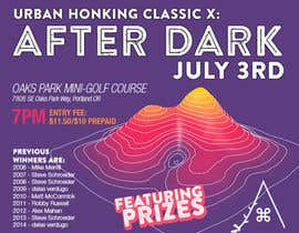 #35 for Design a flyer for the 10th annual Urban Honking Minigolf Classic by silvi86