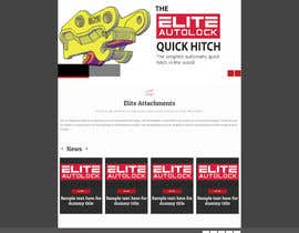 #24 for Design a Website Mockup for Elite Attachments Website af Thanosfotn