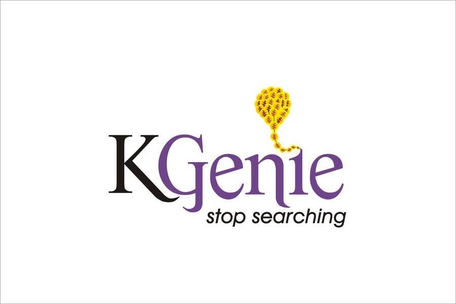 Конкурсная заявка №                                        487                                      для                                         Logo Design for KGenie.com