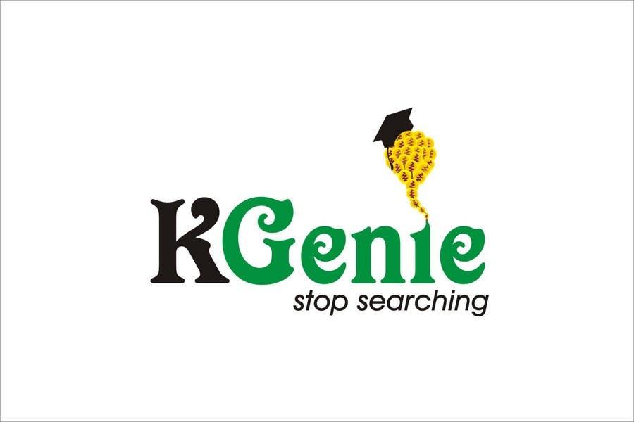 Конкурсная заявка №                                        490                                      для                                         Logo Design for KGenie.com