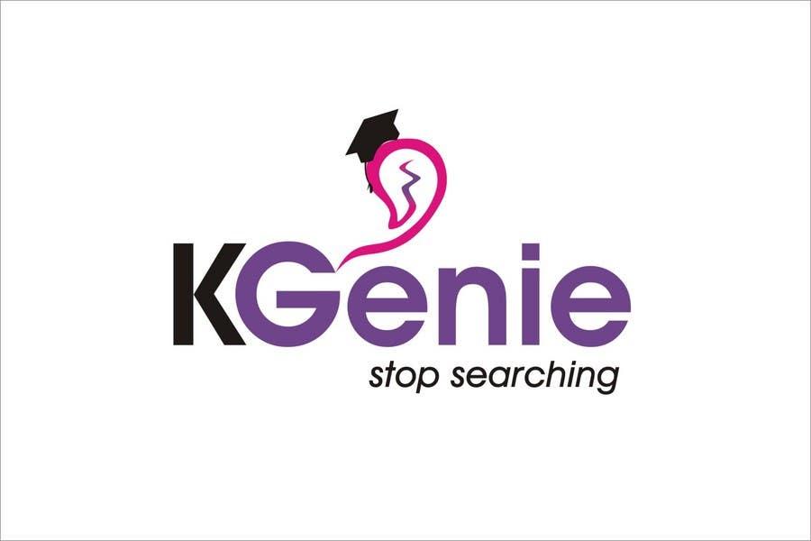 Конкурсная заявка №                                        483                                      для                                         Logo Design for KGenie.com