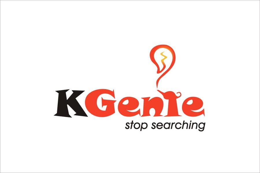 Конкурсная заявка №                                        491                                      для                                         Logo Design for KGenie.com