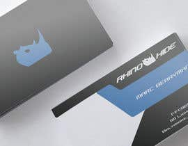 #47 untuk Develop a Corporate Identity for Rhinohide oleh vadimcarazan