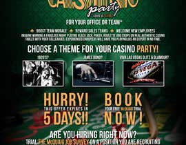 nº 13 pour Flyer - Easy, Quick, Casino Theme par EFrad