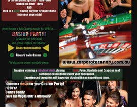 nº 3 pour Flyer - Easy, Quick, Casino Theme par Dokins