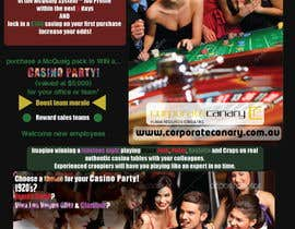 #4 for Flyer - Easy, Quick, Casino Theme af Dokins