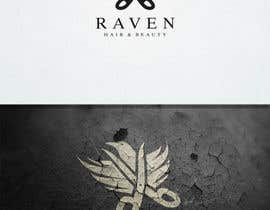 #76 para Design a Logo for Raven Hair & Beauty por nikolan27