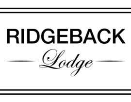 #17 cho Design a Logo for Ridgeback Lodge bởi onokao1onokao1