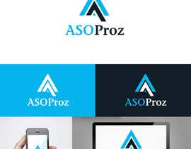 #43 for Design a Flat Logo & Business cards for a mobile app marketing company af benson92