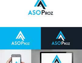 #44 for Design a Flat Logo & Business cards for a mobile app marketing company af benson92