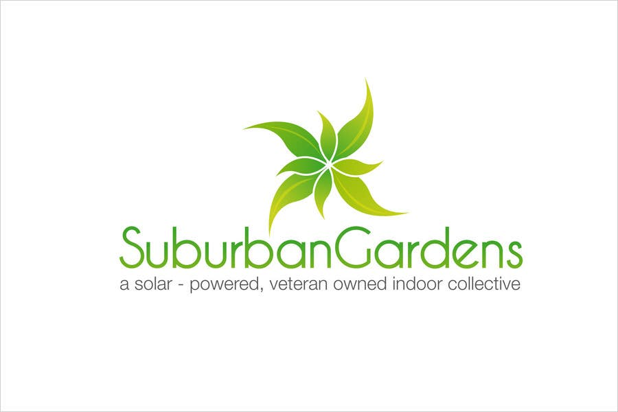 Konkurrenceindlæg #                                        85                                      for                                         Logo Design for Suburban Gardens - A solar-powered, veteran owned indoor collective
