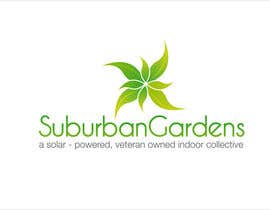 Grupof5 tarafından Logo Design for Suburban Gardens - A solar-powered, veteran owned indoor collective için no 85