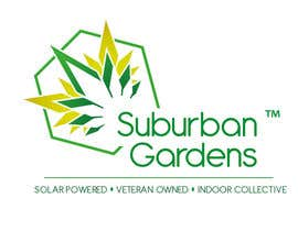 #88 untuk Logo Design for Suburban Gardens - A solar-powered, veteran owned indoor collective oleh nm8