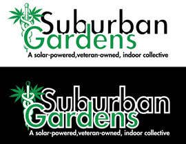 LynnN tarafından Logo Design for Suburban Gardens - A solar-powered, veteran owned indoor collective için no 54