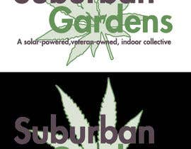 LynnN tarafından Logo Design for Suburban Gardens - A solar-powered, veteran owned indoor collective için no 52