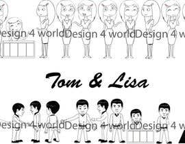 nº 21 pour Tom and Lisa par design4world