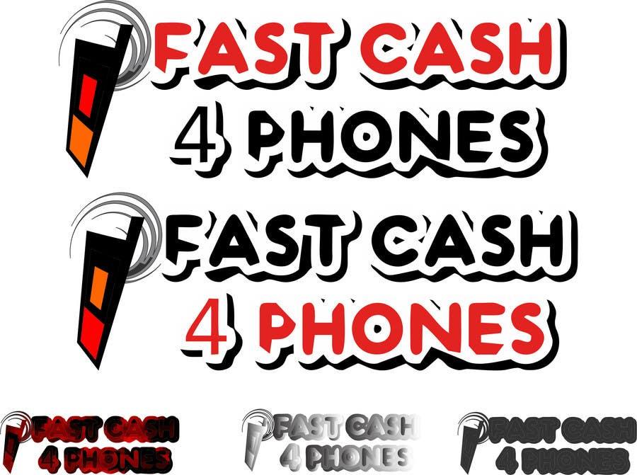 Entri Kontes #                                        101                                      untuk                                        Logo Design for Fast Cash 4 Phones