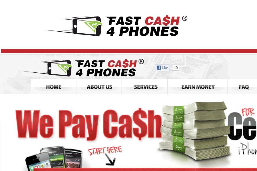 Kilpailutyö #                                        97                                      kilpailussa                                         Logo Design for Fast Cash 4 Phones