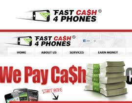 #97 para Logo Design for Fast Cash 4 Phones por sikoru