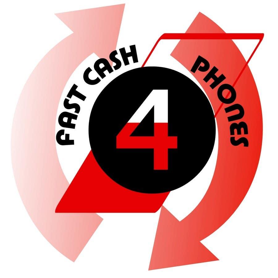Entri Kontes #                                        24                                      untuk                                        Logo Design for Fast Cash 4 Phones