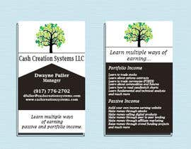 #54 untuk Design some Business Cards for Cash Creation Systems oleh maanap