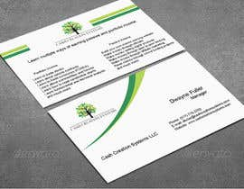 #49 untuk Design some Business Cards for Cash Creation Systems oleh afsanatuly