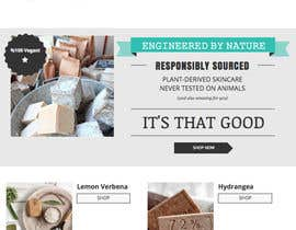 #1 untuk Design a better website to sell soaps oleh erinschnittker