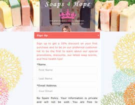 #17 untuk Design a better website to sell soaps oleh webskillers