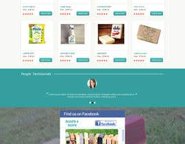 #10 untuk Design a better website to sell soaps oleh manfredinfotech