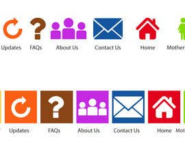 #1 untuk Redesign some icons and supply PSD oleh tariqaziz777