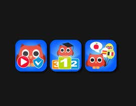 #12 for Re-Design 3 App Icons for App Stores af alexandracol