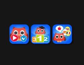 #12 untuk Re-Design 3 App Icons for App Stores oleh alexandracol