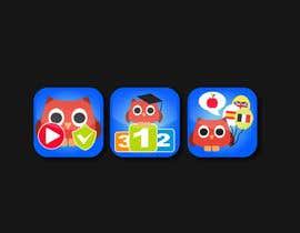 alexandracol tarafından Re-Design 3 App Icons for App Stores için no 14
