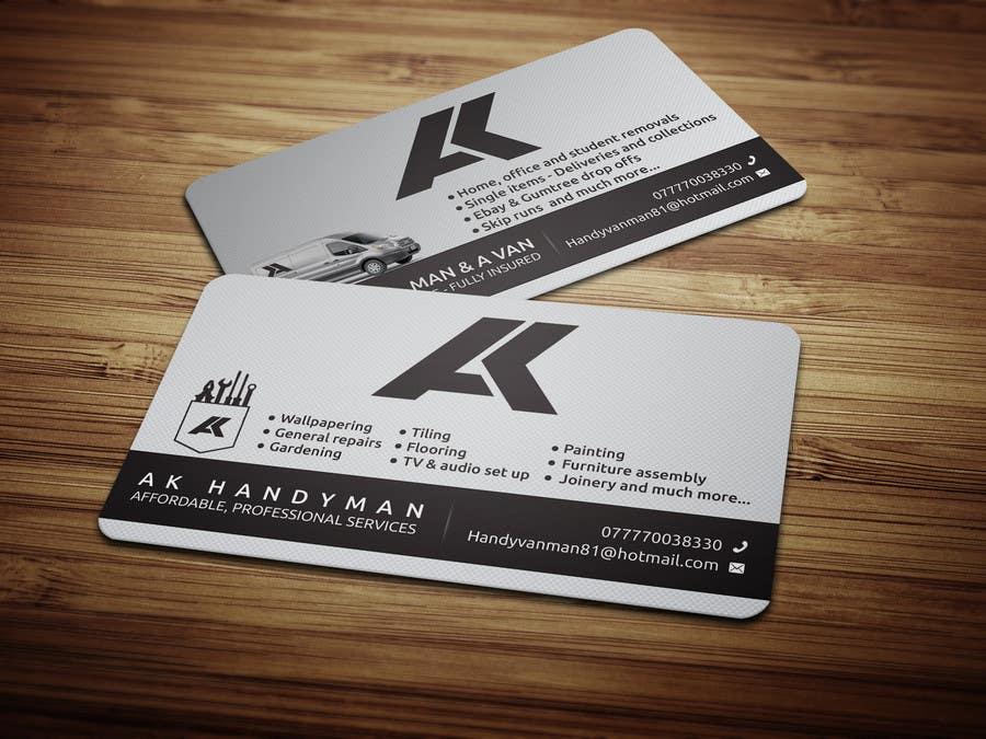 Kilpailutyö #13 kilpailussa Design some Business Cards for removals/handy man