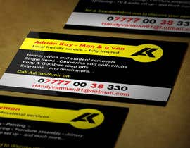 #5 for Design some Business Cards for removals/handy man af fox29891