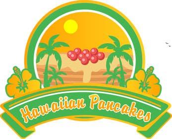 Nro 5 kilpailuun Design a Logo for Hawaiian Pancakes käyttäjältä brendamx
