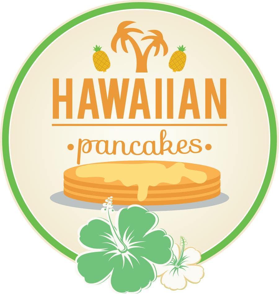 Kilpailutyö #18 kilpailussa Design a Logo for Hawaiian Pancakes