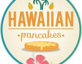 Nro 23 kilpailuun Design a Logo for Hawaiian Pancakes käyttäjältä ongfw